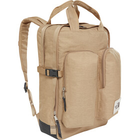 The North Face Mini Crevasse Mochila, kelp tan dark heather/asphalt grey light heather